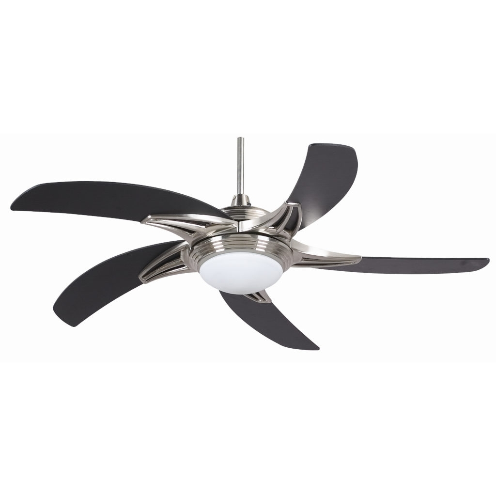 Light : Hunter Hugger Ceiling Fans With Led Lights Contemporary Fan With Regard To 2019 Black Outdoor Ceiling Fans With Light (View 20 of 20)