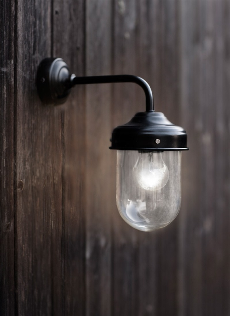 Light : Lantern Outdoor Wall Mount Lights Simple White Decoration In Well Liked Johannesburg Outdoor Wall Lights (Gallery 11 of 20)