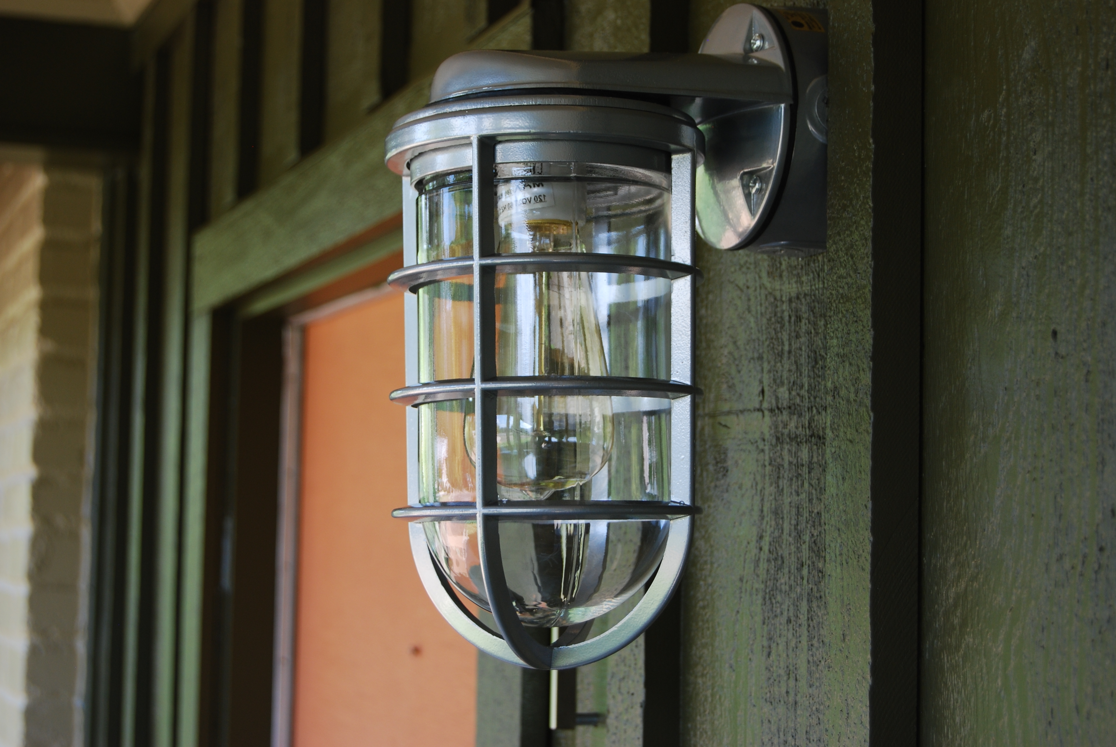 Light : Transformation Of House Exterior Commercial Lighting Inside Well Known Green Outdoor Wall Lights (View 12 of 20)