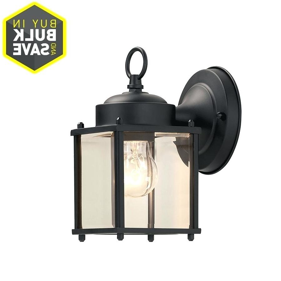 Light : Wall Lights Design Packs Exterior Mount Led Light Fixtures Within Best And Newest Outdoor Wall Lighting At Amazon (View 9 of 20)