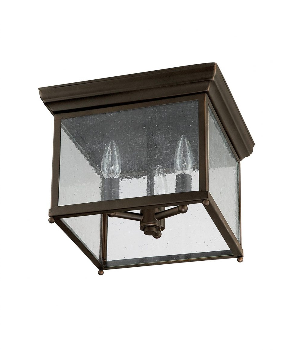 Lighting : Craftsman Outdoor Lighting Home Depot Sears Exterior Pertaining To Well Known Craftsman Style Outdoor Ceiling Lights (View 12 of 20)