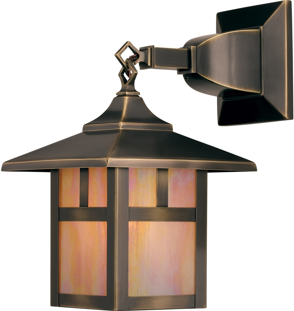 Lighting : Craftsman Styleor Lighting Kitchler Wall Sconce What Is In Famous Craftsman Outdoor Ceiling Lights (View 12 of 20)