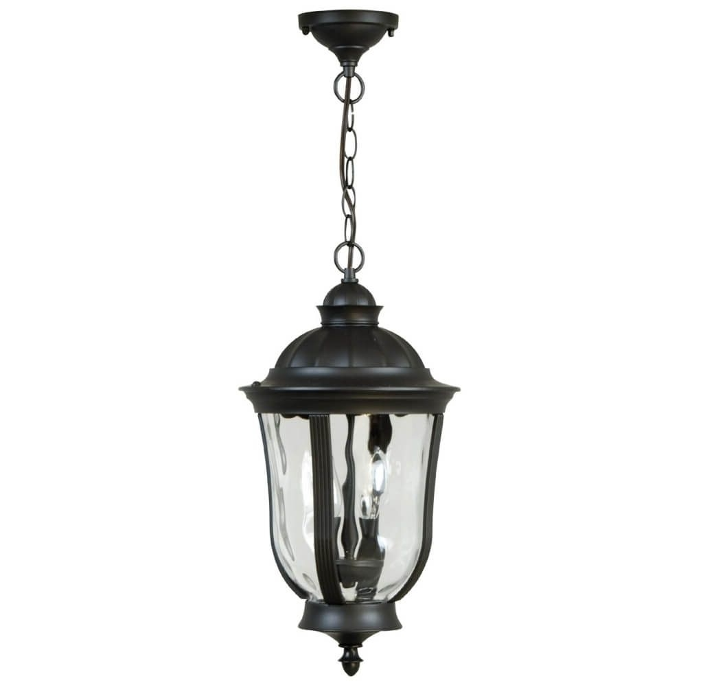 Lighting: Gorgeous Clear Glass Hanging Lantern Outdoor Pendant Regarding Latest Outdoor Hanging Lamps At Amazon (View 8 of 20)