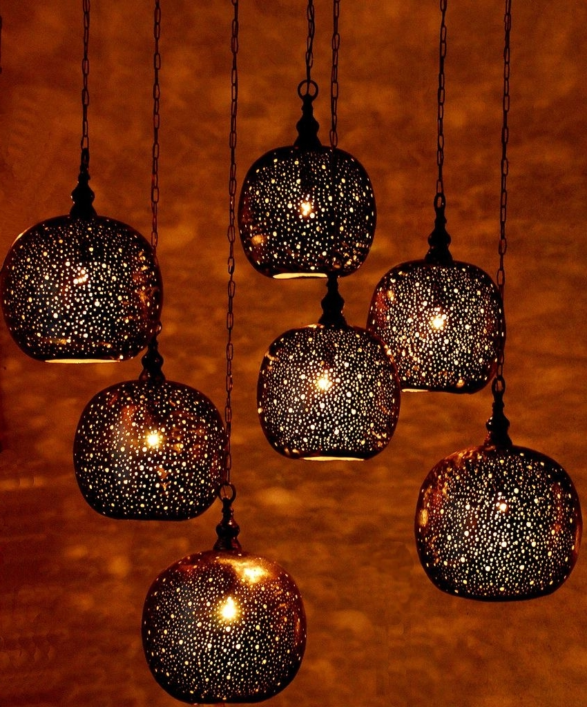 Lighting Intended For Outdoor Hanging Moroccan Lanterns (View 7 of 20)