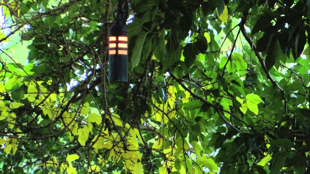 Low Voltage Outdoor Hanging Lights Intended For 2018 Hanging Tree Landscape Lighting Fixtures – Youtube (View 10 of 20)