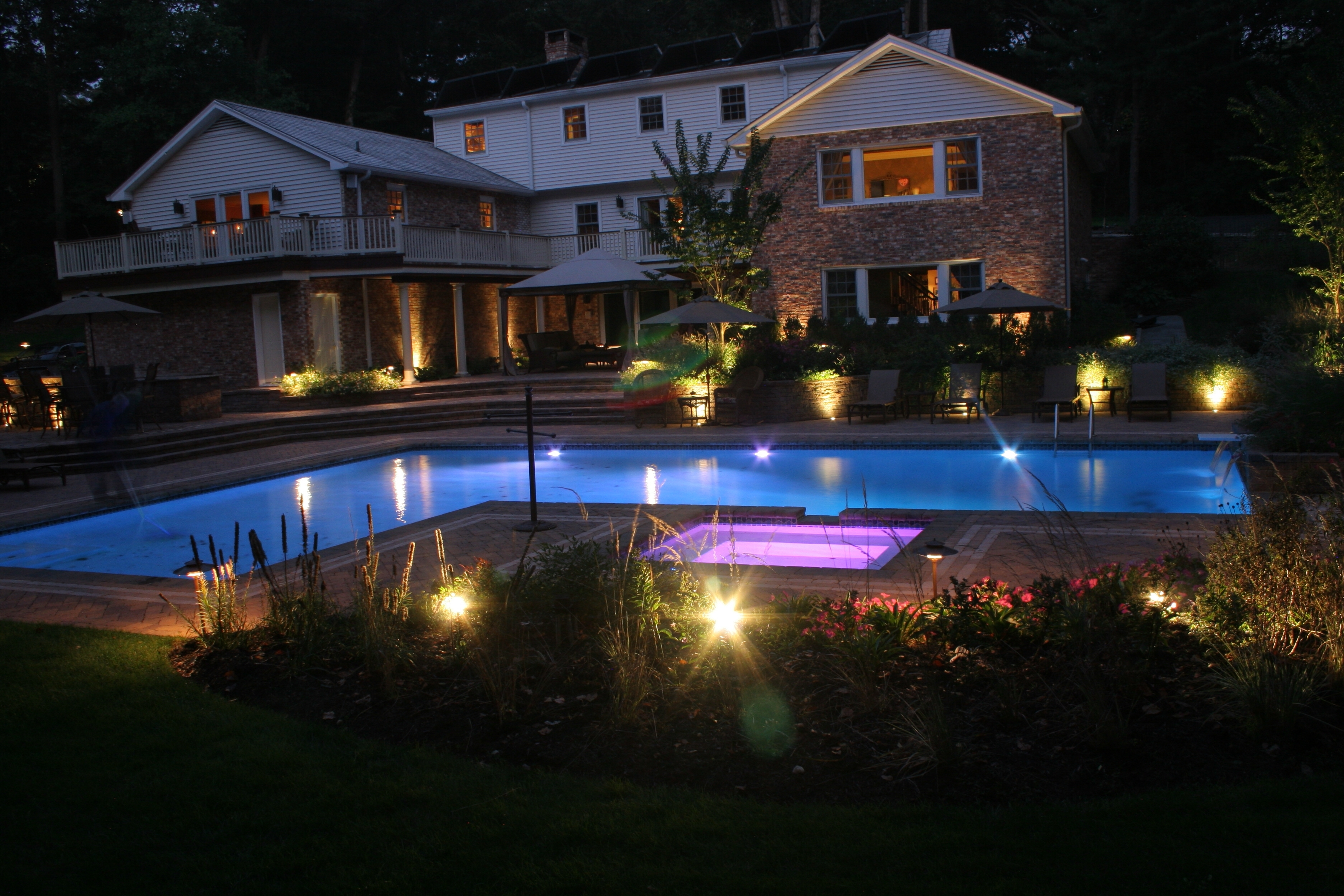 Low Voltage Outdoor Lighting Intended For Most Popular Lamp: Efficient Lighting Solution With Hampton Bay Low Voltage (View 20 of 20)