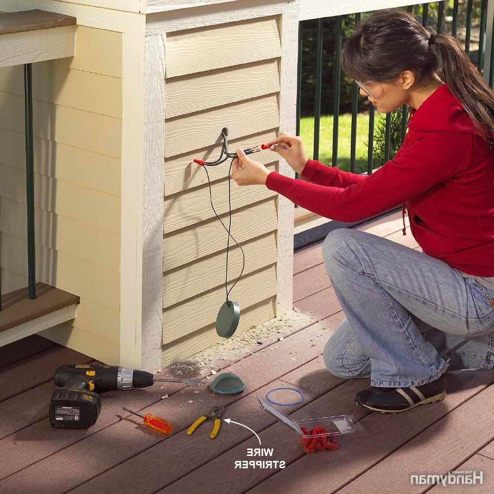 Low Voltage Outdoor Wall Lights Pertaining To Popular Diy Outdoor Lighting Tips For Beginners (View 13 of 20)