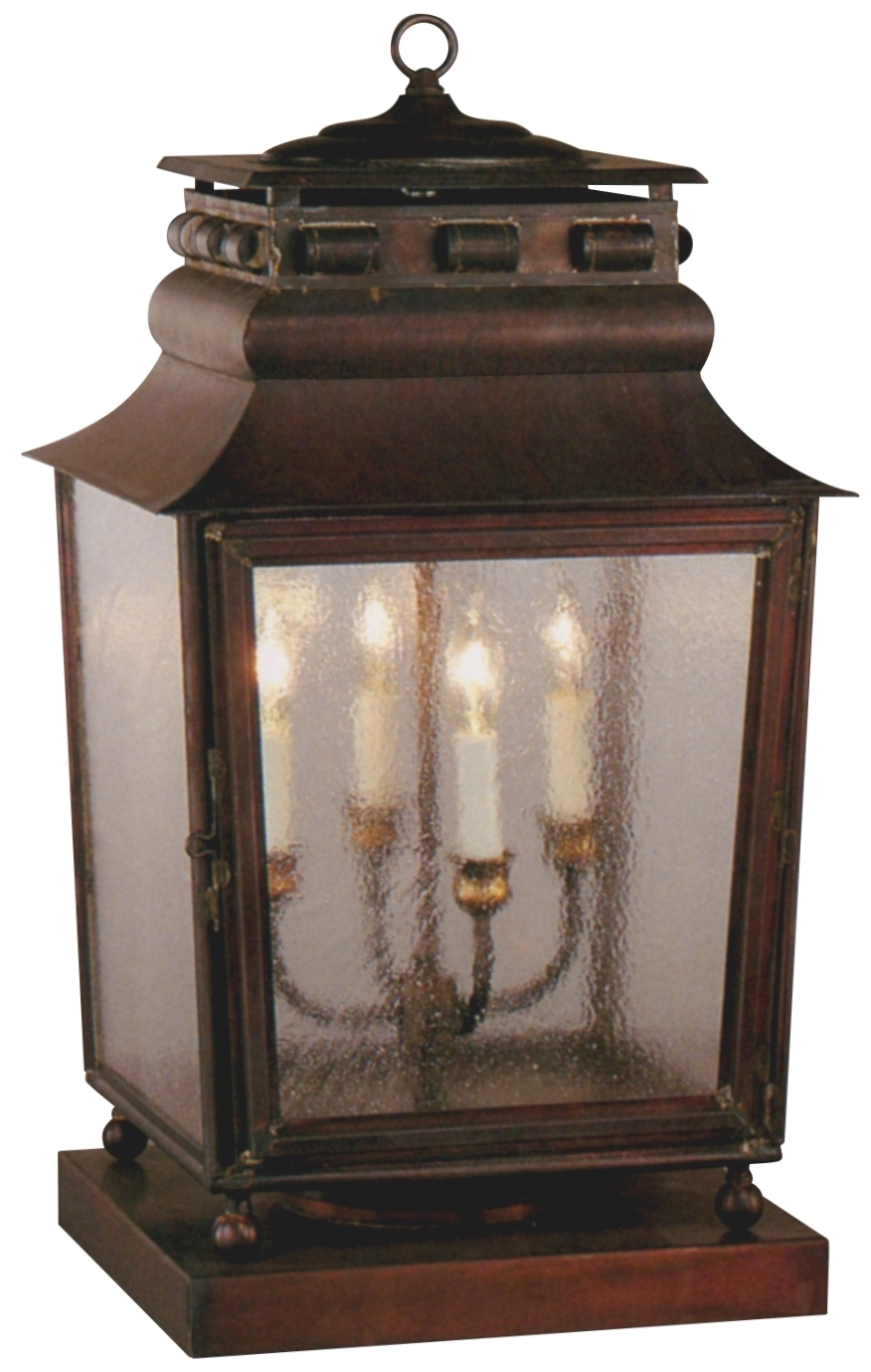 Made in usa outdoor wall lighting inside well liked lanternland solid copper lanterns outdoor lighting