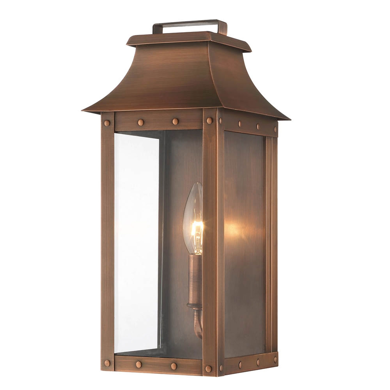 Manchester Copper Patina One Light Outdoor Wall Mount Acclaim Throughout Recent Acclaim Lighting Outdoor Wall Lights (View 10 of 20)