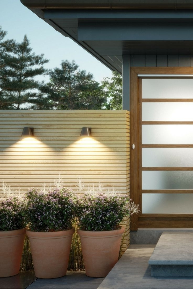 Marine Grade Outdoor Wall Lights Throughout Newest The Bowman 6 Led Outdoor Wall Sconcestech Lighting Are Inspired (View 12 of 20)