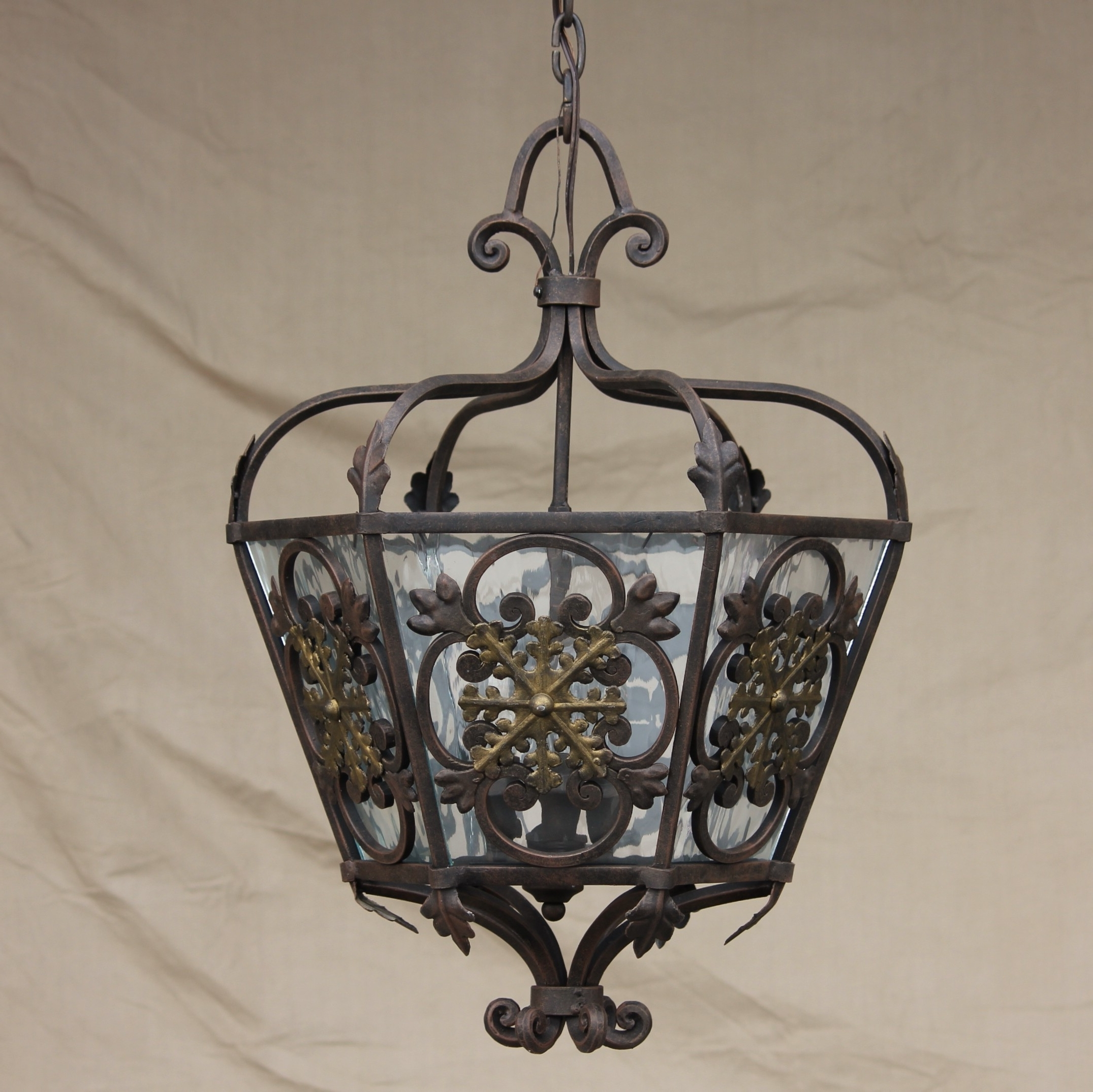 Mexican Outdoor Hanging Lights Inside Recent Furniture : Wrought Iron Outdoor Lamp Post Light Lighting Exterior (View 9 of 20)