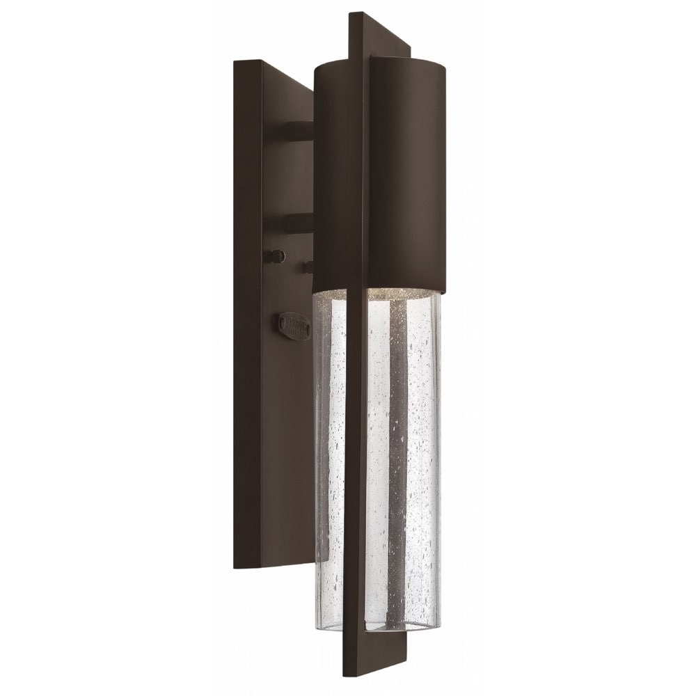 Mini Wall Mount Hinkley Lighting Intended For Trendy Lighting Outdoor Shelter Mini Wall Mount Buckeye Bronze 1326Kz Ll (View 8 of 20)