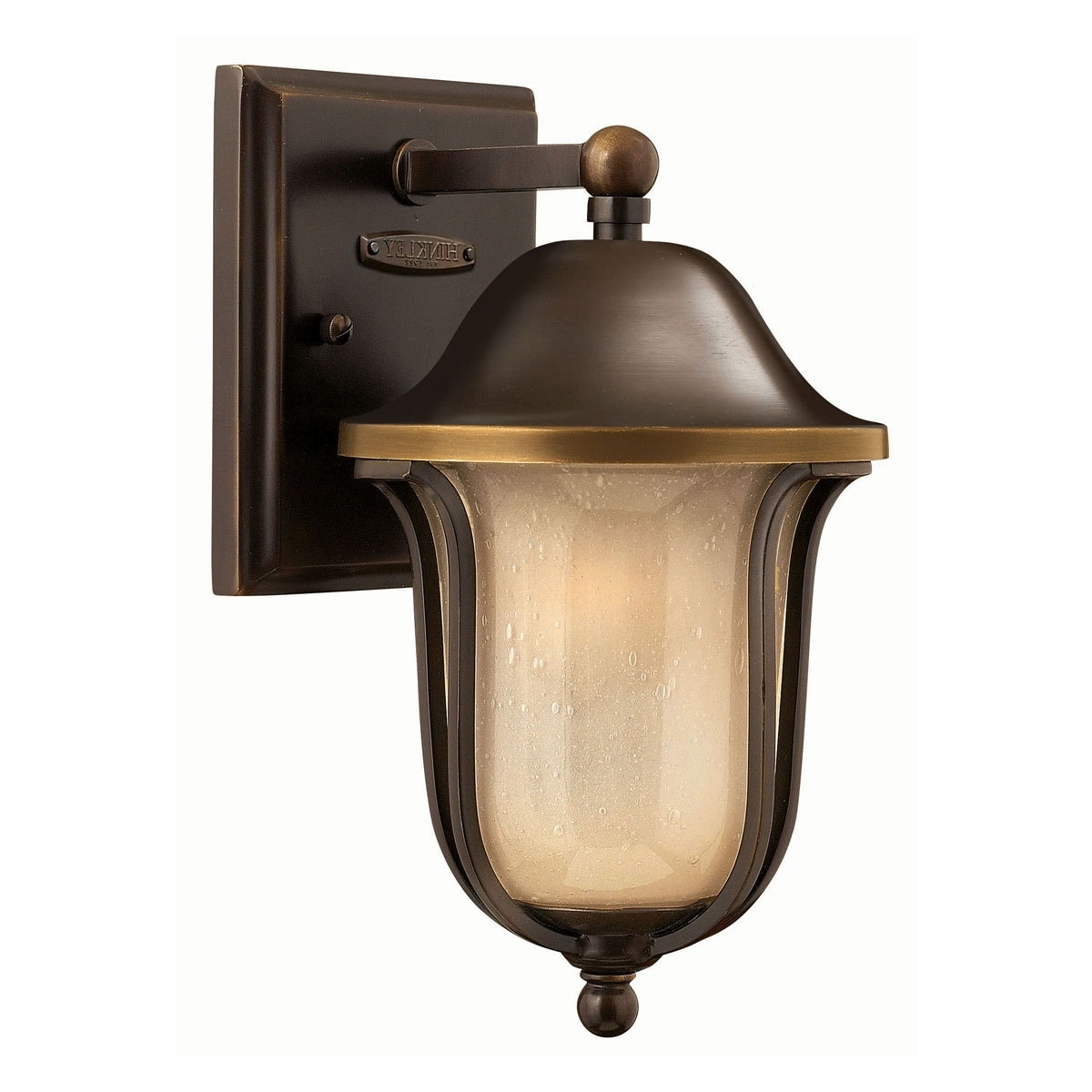 Mini Wall Mount Hinkley Lighting With Most Up To Date 2636ob – Mini Outdoor Wall Light, Bolla Olde Bronze (View 10 of 20)