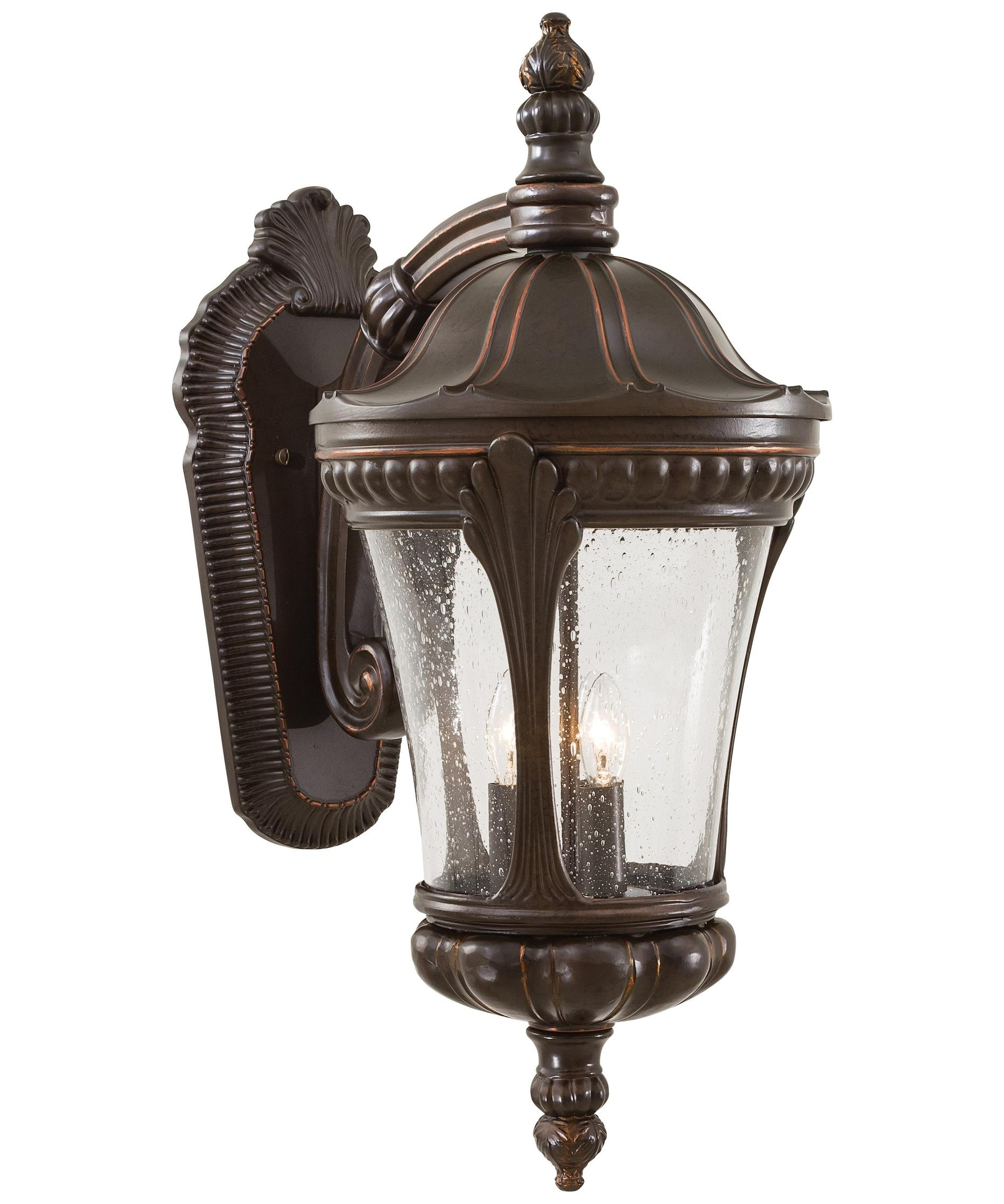 Minka Lavery 9143 Kent Place 10 Inch Wide 3 Light Outdoor Wall Light In Well Known Traditional Outdoor Wall Lighting (View 19 of 20)