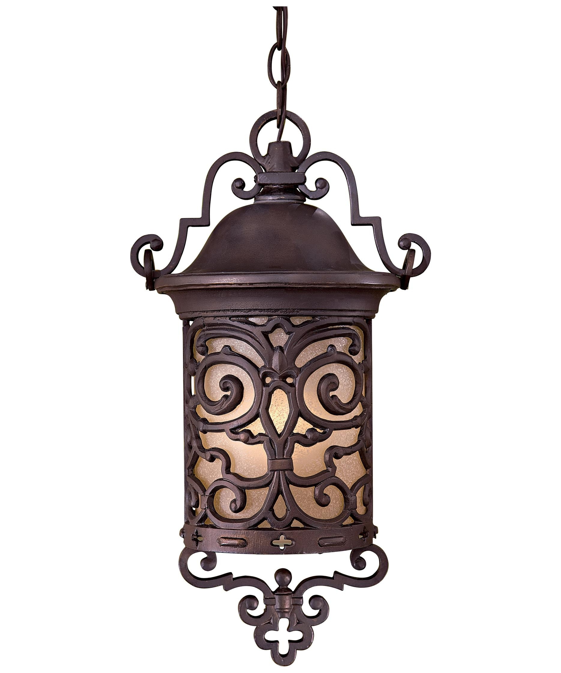 Minka Lavery 9194 Chelsea Road 11 Inch Wide 1 Light Outdoor Hanging Throughout Favorite Outdoor Iron Hanging Lights (View 6 of 20)