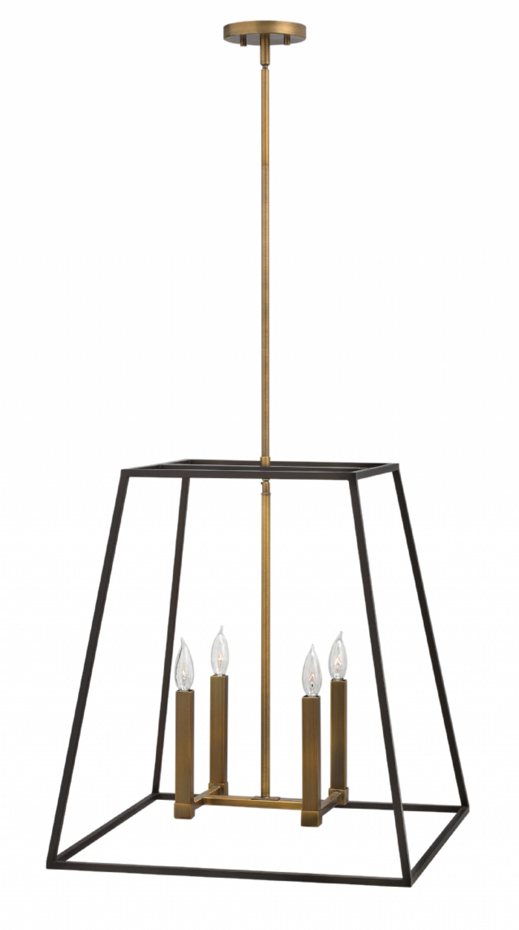 Modern Latern Hinkley Lighting Regarding Preferred Bronze Fulton > Interior Hanging (View 12 of 20)