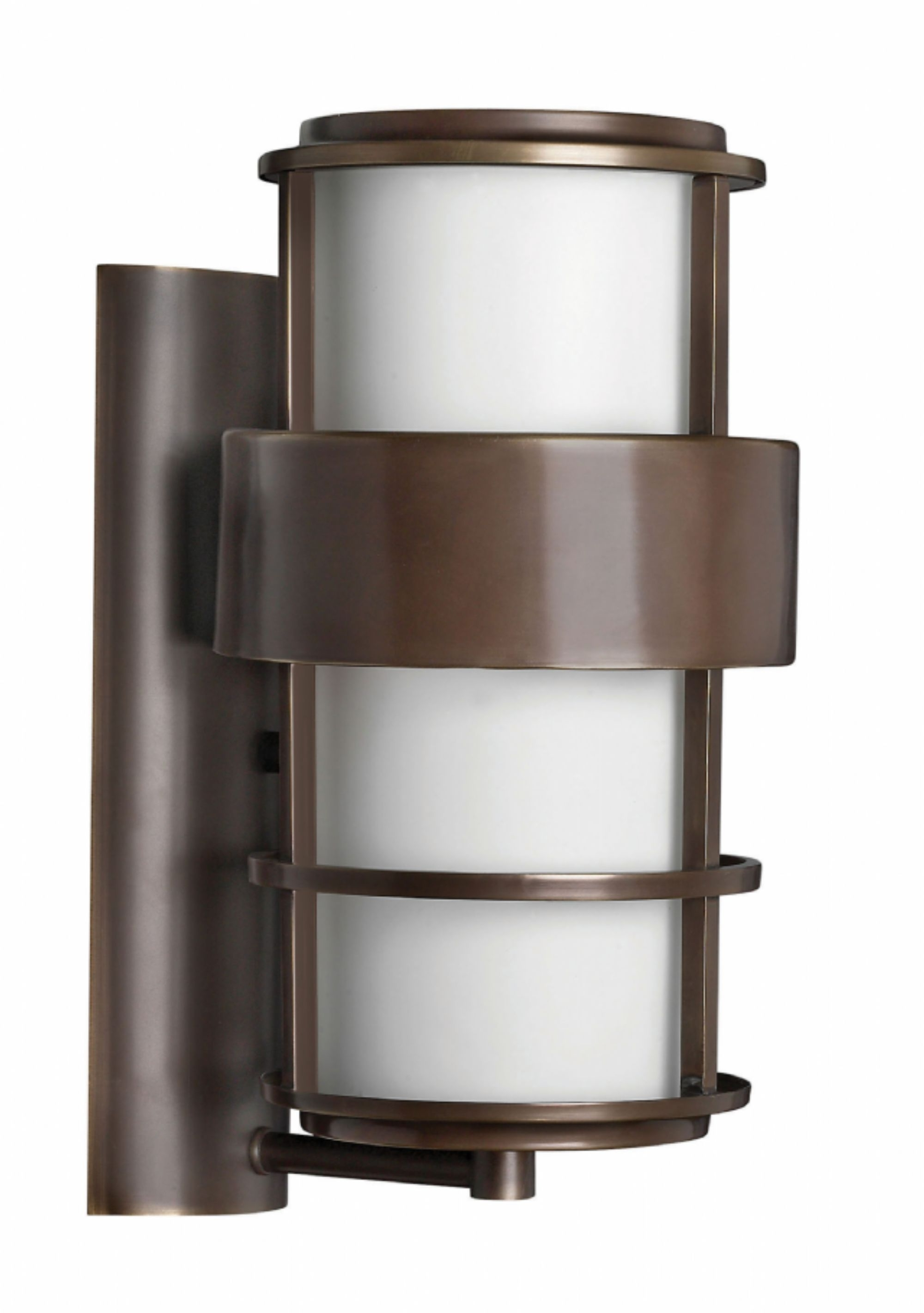 Modern Latern Hinkley Lighting Throughout Best And Newest Metro Bronze Saturn > Exterior Wall Mount (View 15 of 20)