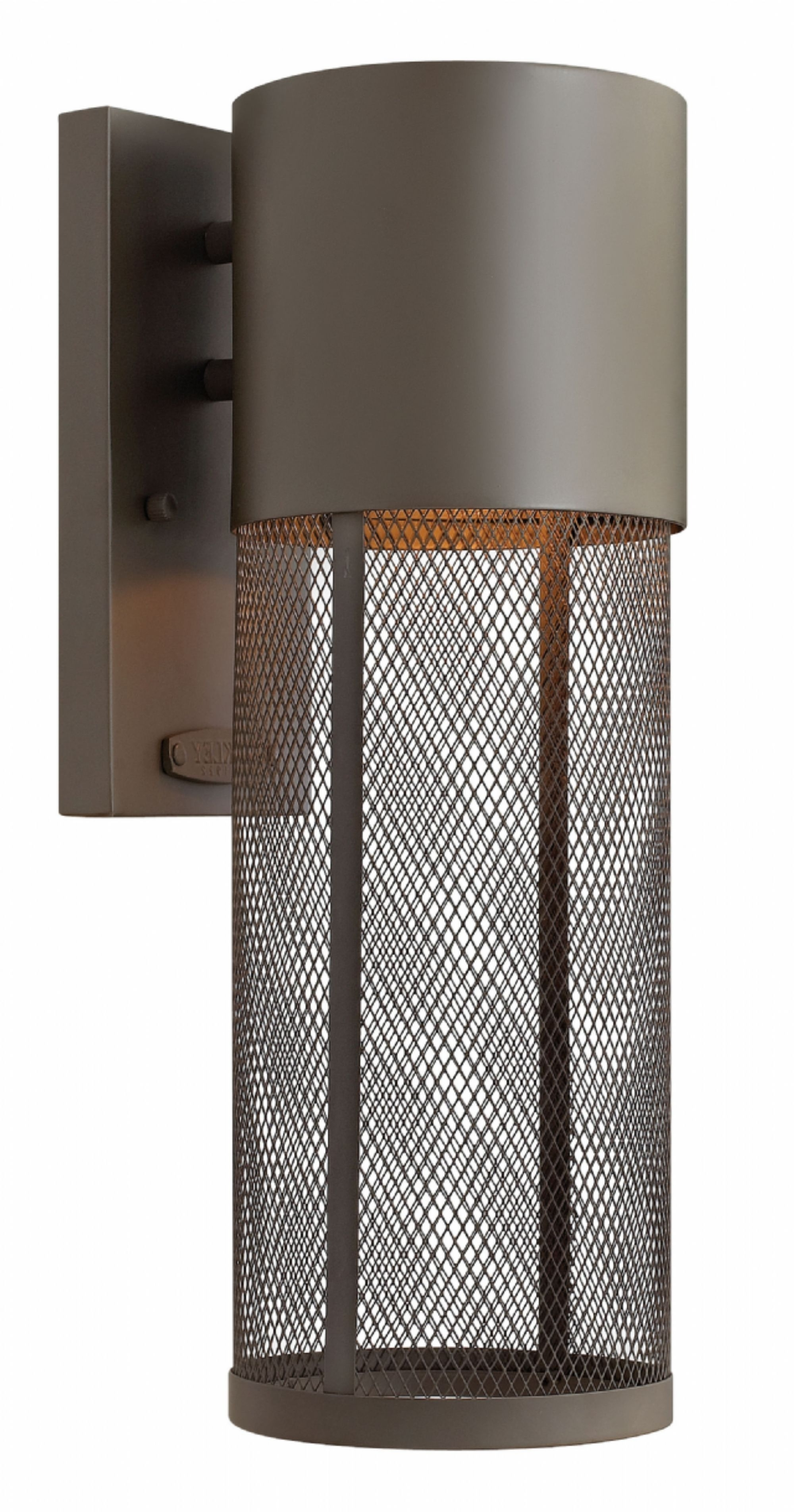 Modern Latern Hinkley Lighting With Newest Buckeye Bronze Aria > Exterior Wall Mount (View 16 of 20)
