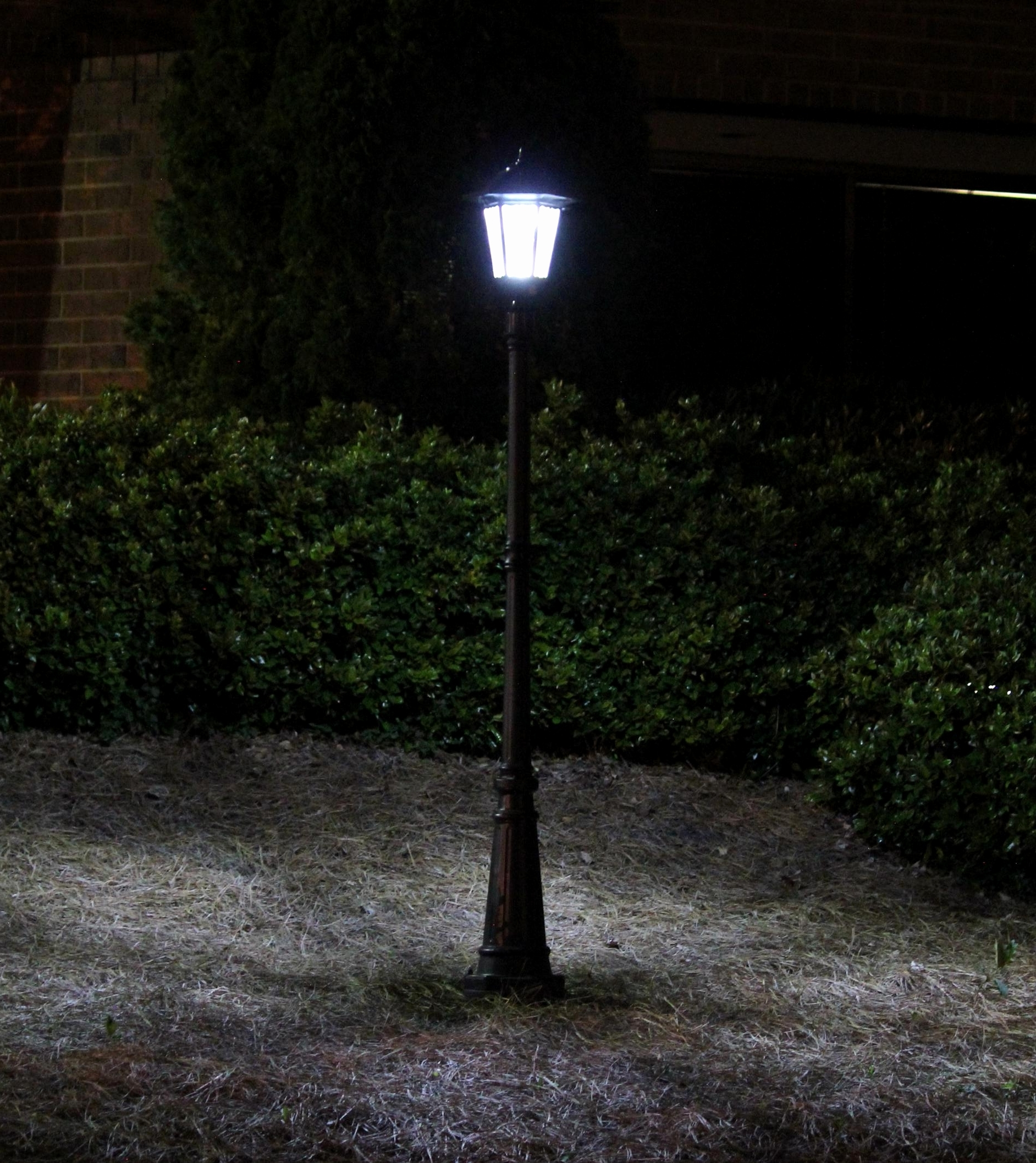 Modern Led Solar Garden Lighting Fixture For Favorite 29 New Solar Outdoor Landscape Lighting Pictures (View 9 of 20)