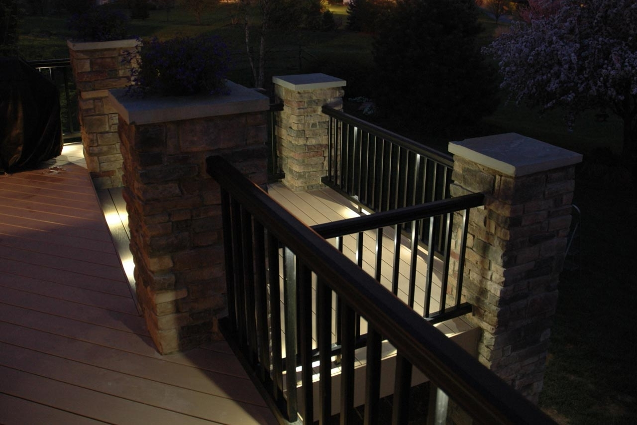 Modern Low Voltage Deck Lighting Within Current Modern Low Voltage Deck Lighting : How To Install Low Voltage Deck (View 17 of 20)