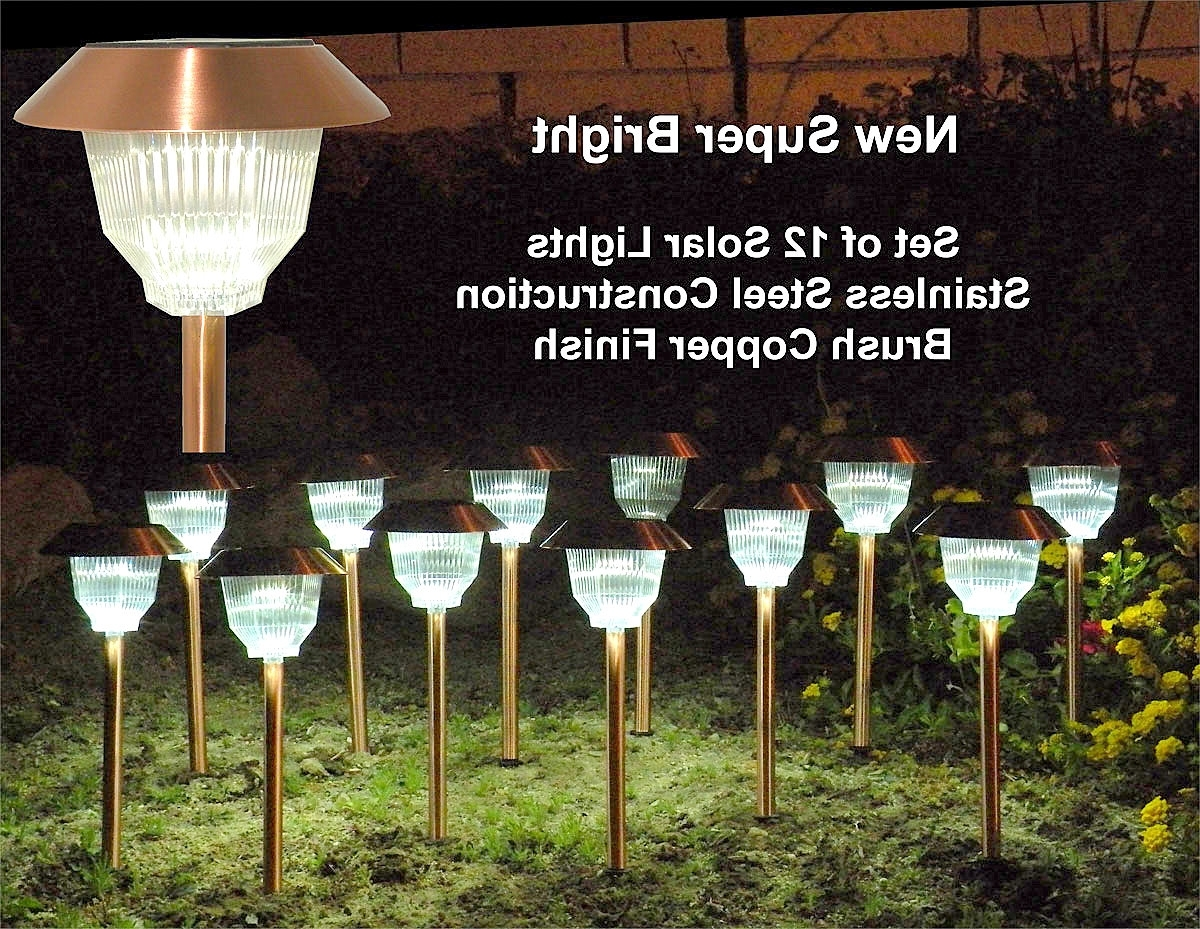 Modern Outdoor And Garden Solar Lights Inside Latest Outdoor Patio Solar Lights (View 18 of 20)