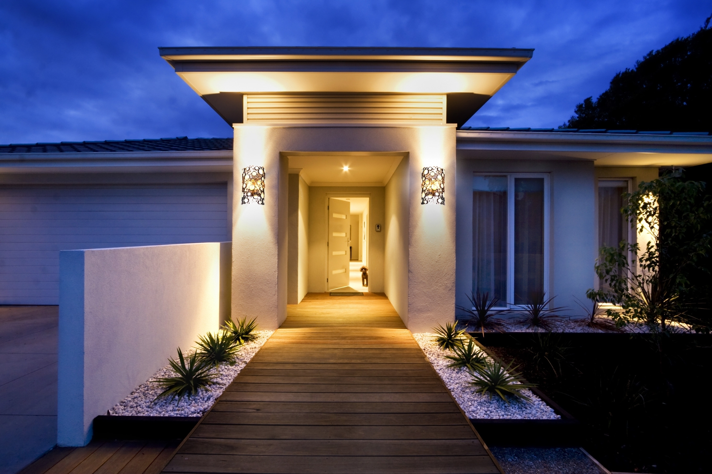Modern Outdoor Lighting Fixture Design Ideas Youtube Bedroom Within Trendy Modern Outdoor Lighting (View 6 of 20)