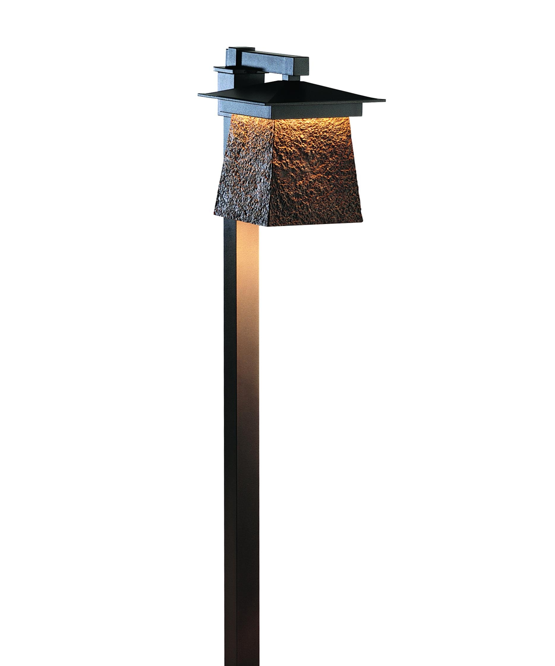 Modern Outdoor Post Lighting Throughout Best And Newest Hubbardton Forge 346020 Lightfall 11 Inch Wide 1 Light Outdoor Post (View 13 of 20)