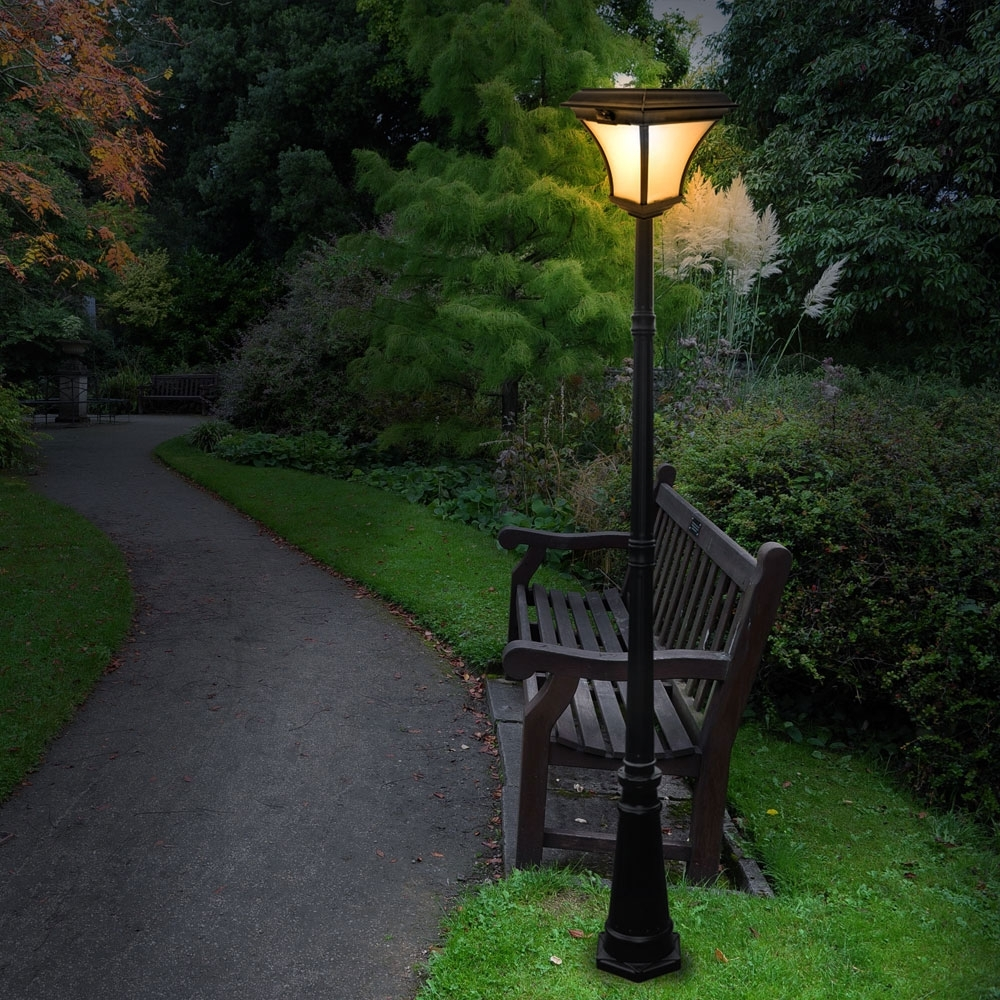 Modern Outdoor Post Lights – Free Reference For Home And Interior With Widely Used Contemporary Solar Garden Lighting Fixtures (View 14 of 20)