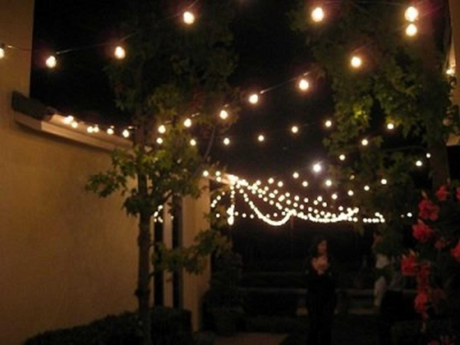 Modern Outdoor String Lights Pertaining To Most Recently Released Modern Style String Of Patio Lights With Outdoor Led String Lights (View 11 of 20)