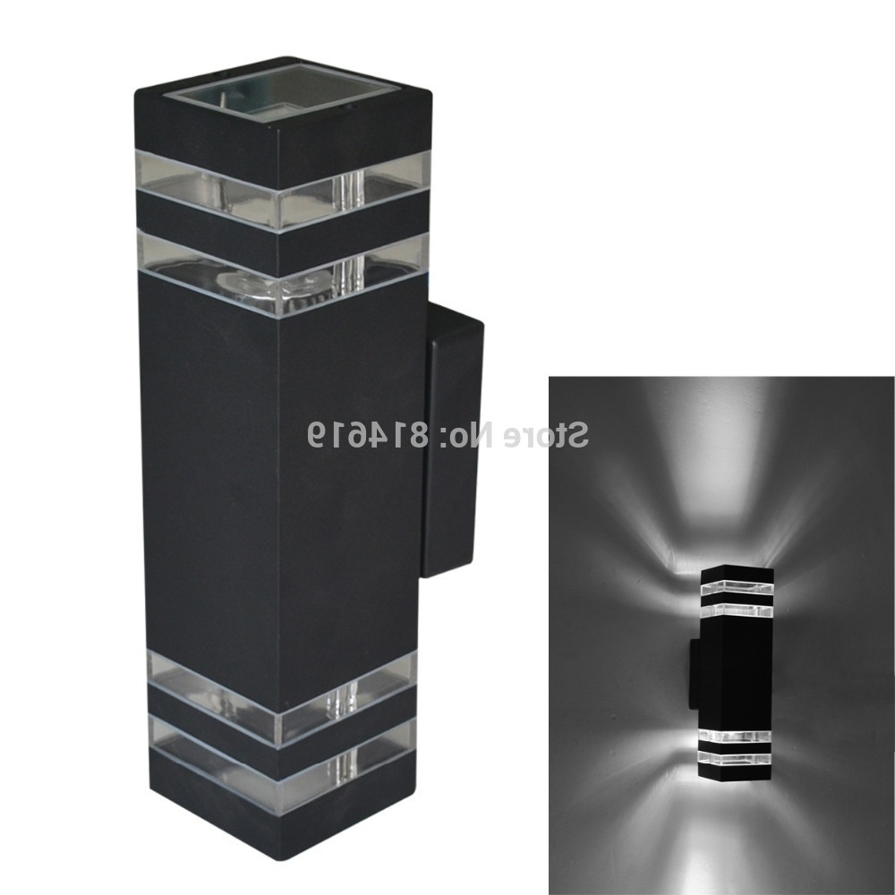 Modern Outdoor Wall Lighting / Outdoor Wall Lamp / Led Porch Lights Regarding Recent Bunnings Outdoor Wall Lighting (View 9 of 20)