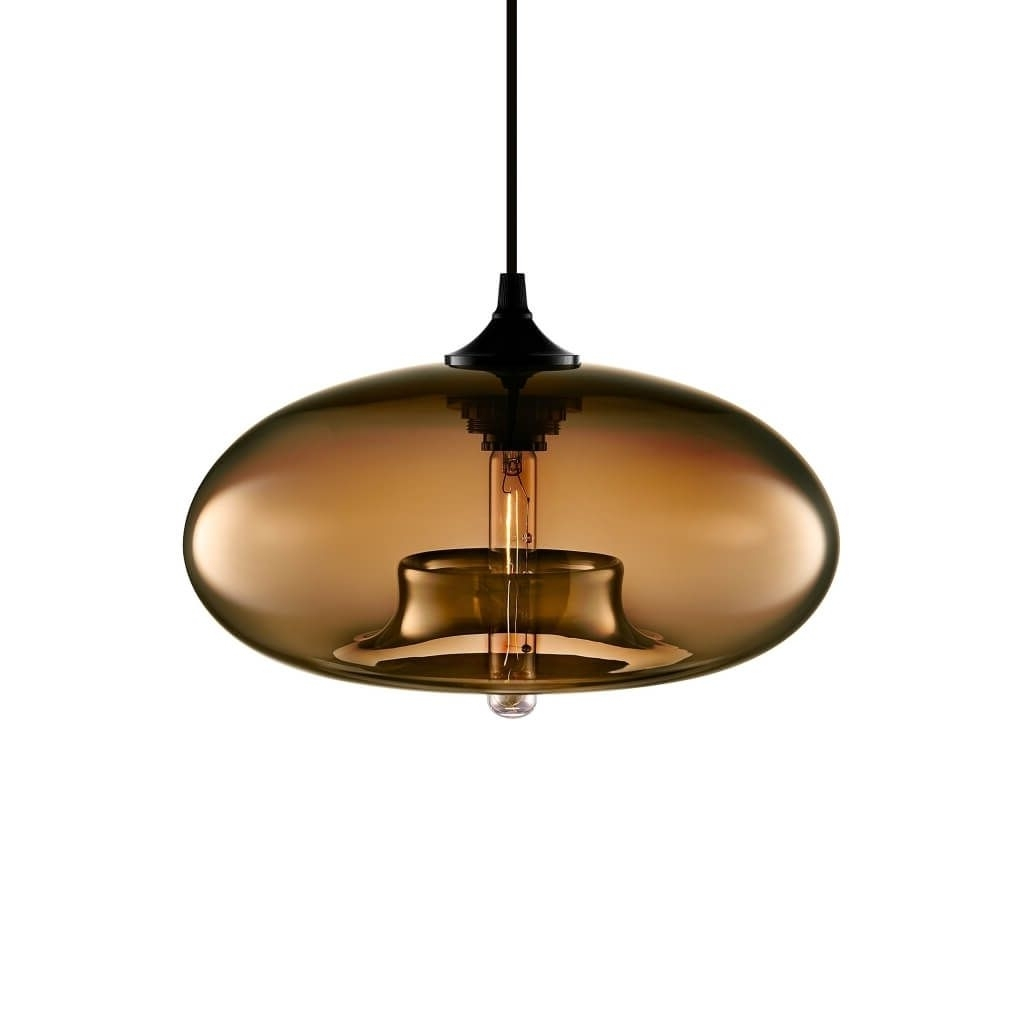 Modern Pendant Lighting Fixtures Within Famous Lighting: Modern Stained Blown Glass Pendant Lighting Ideas For (View 6 of 20)