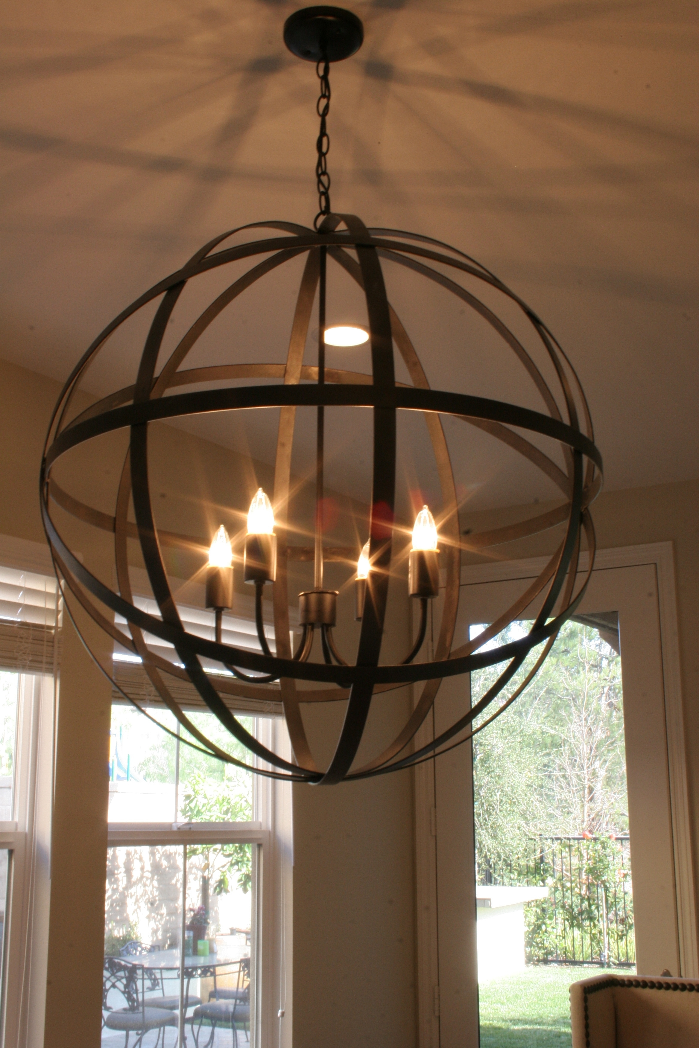 Modern Rustic Outdoor Lighting At Home Depot Inside Well Known Modern Rustic Chandelier Agreeable Iron Lightingning Room Track Home (View 16 of 20)
