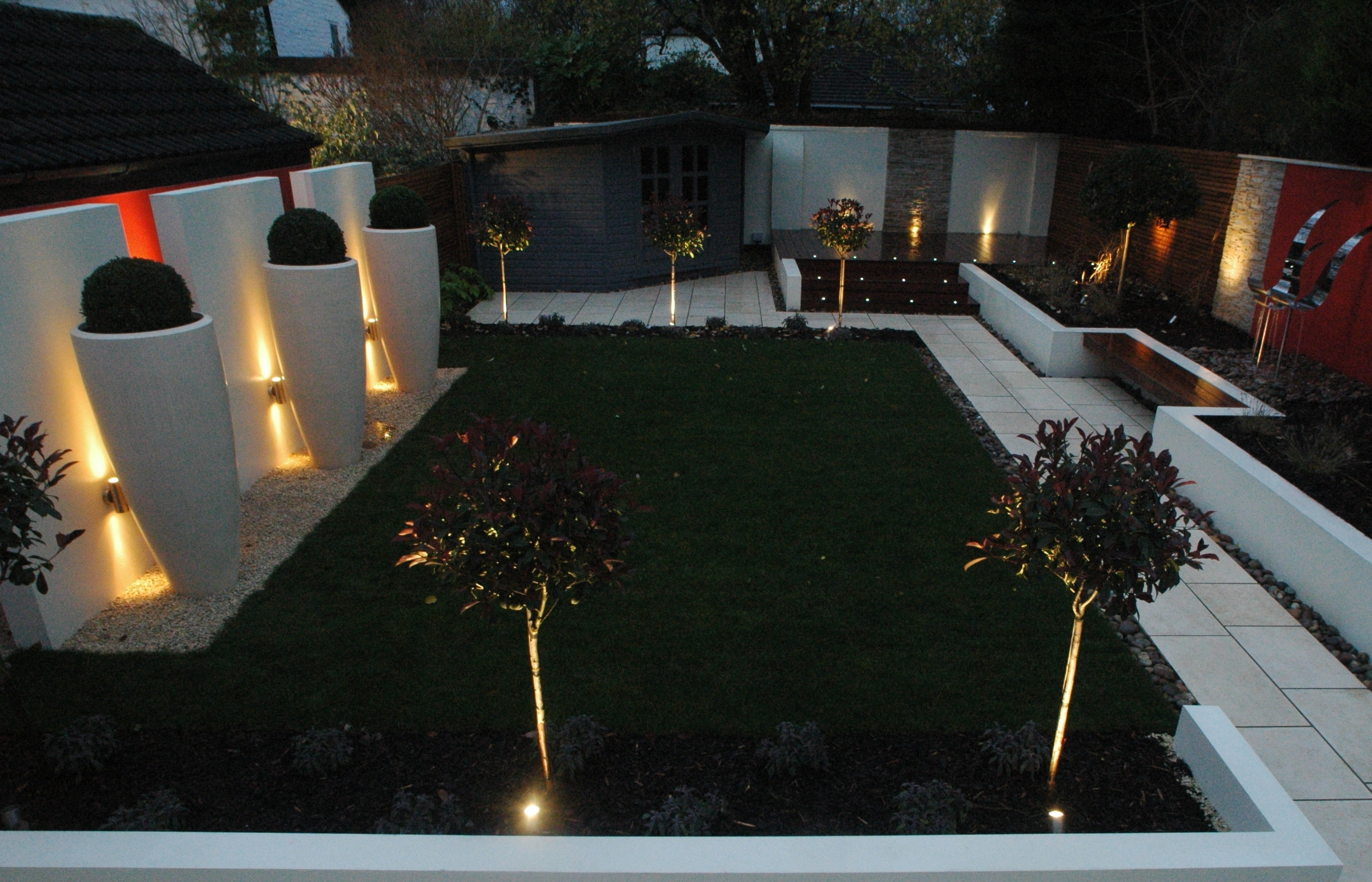 Featured Photo of Modern Small Outdoor Solar Lights