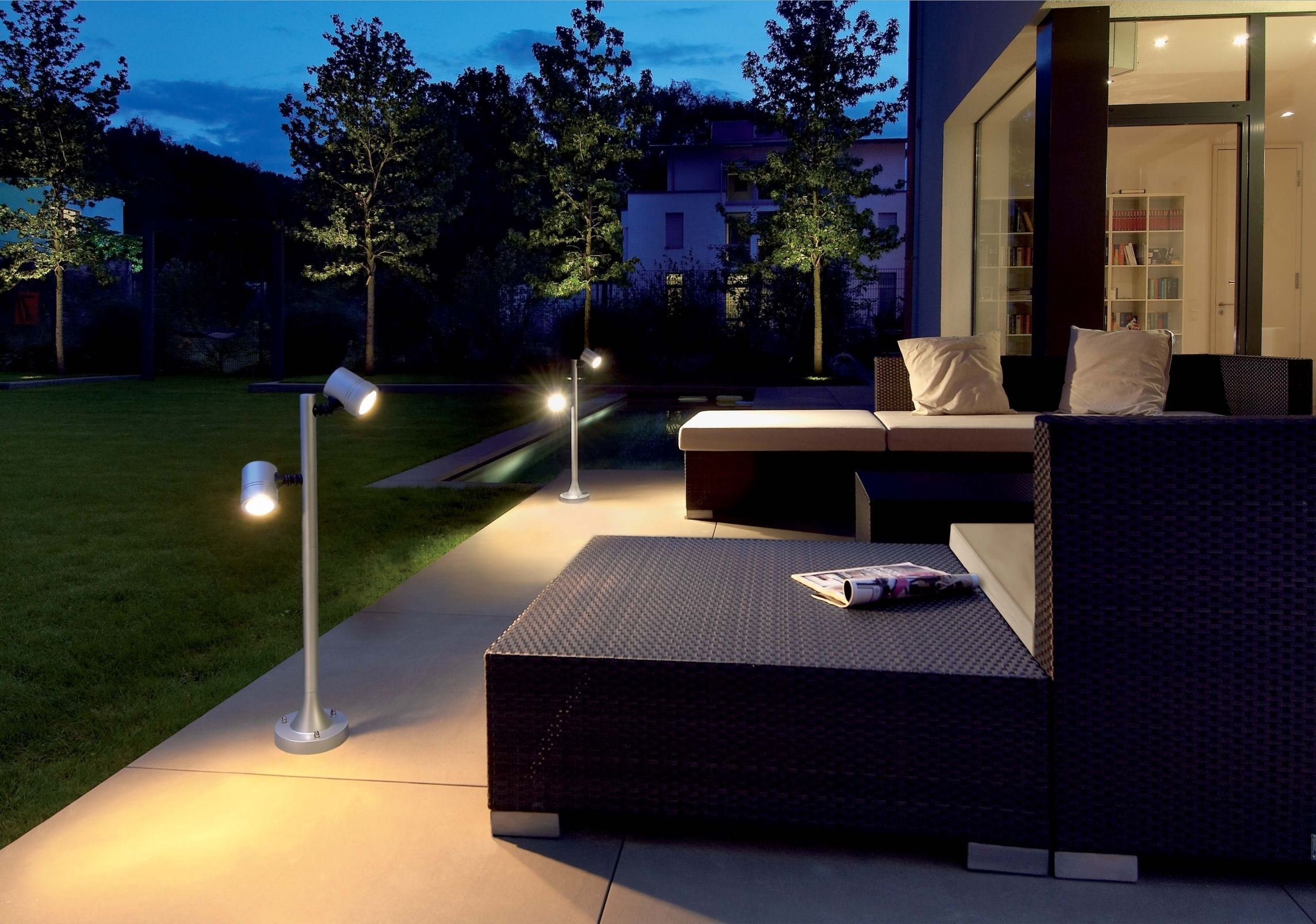 Modern Small Outdoor Solar Lights Within 2019 Garden Lighting Designs. Garden Lighting Designs R – Socopi (View 2 of 20)