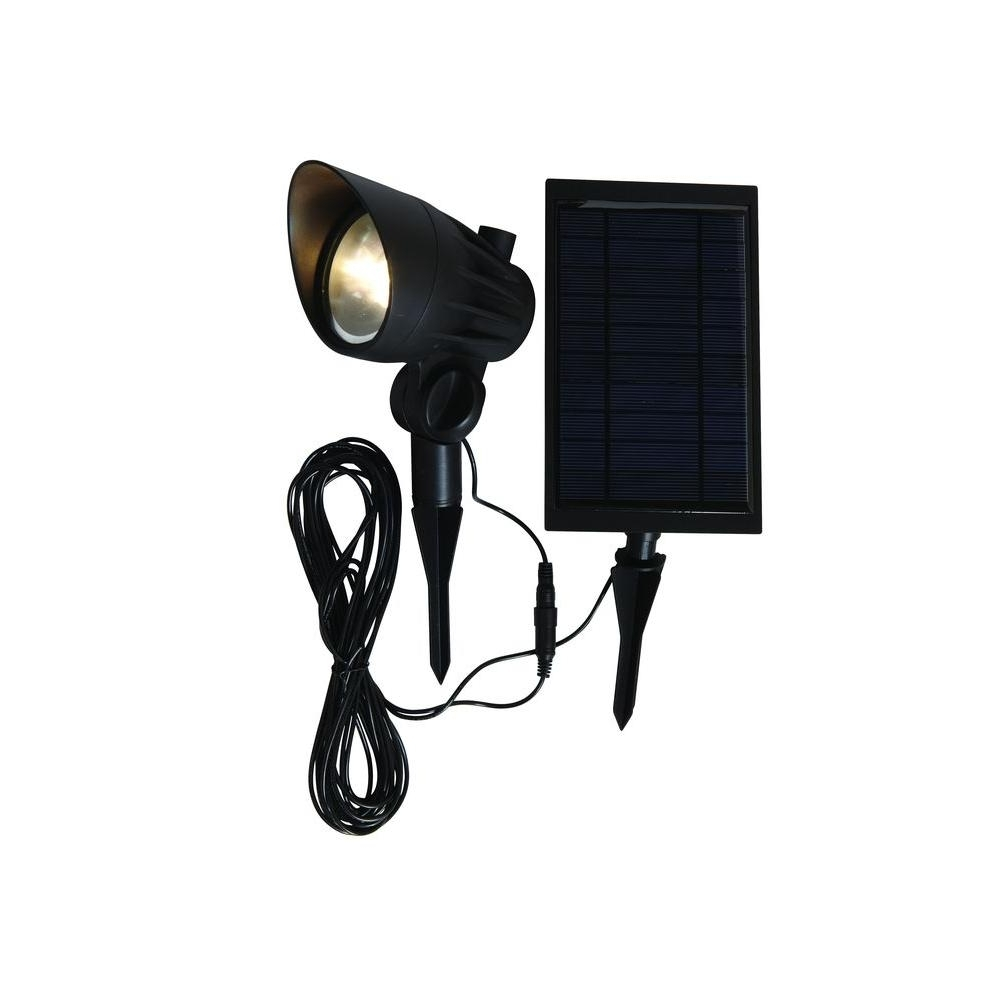 Modern Solar Garden Lighting At Home Depot Pertaining To Popular Motion Sensing – Landscape Lighting – Outdoor Lighting – The Home Depot (View 12 of 20)