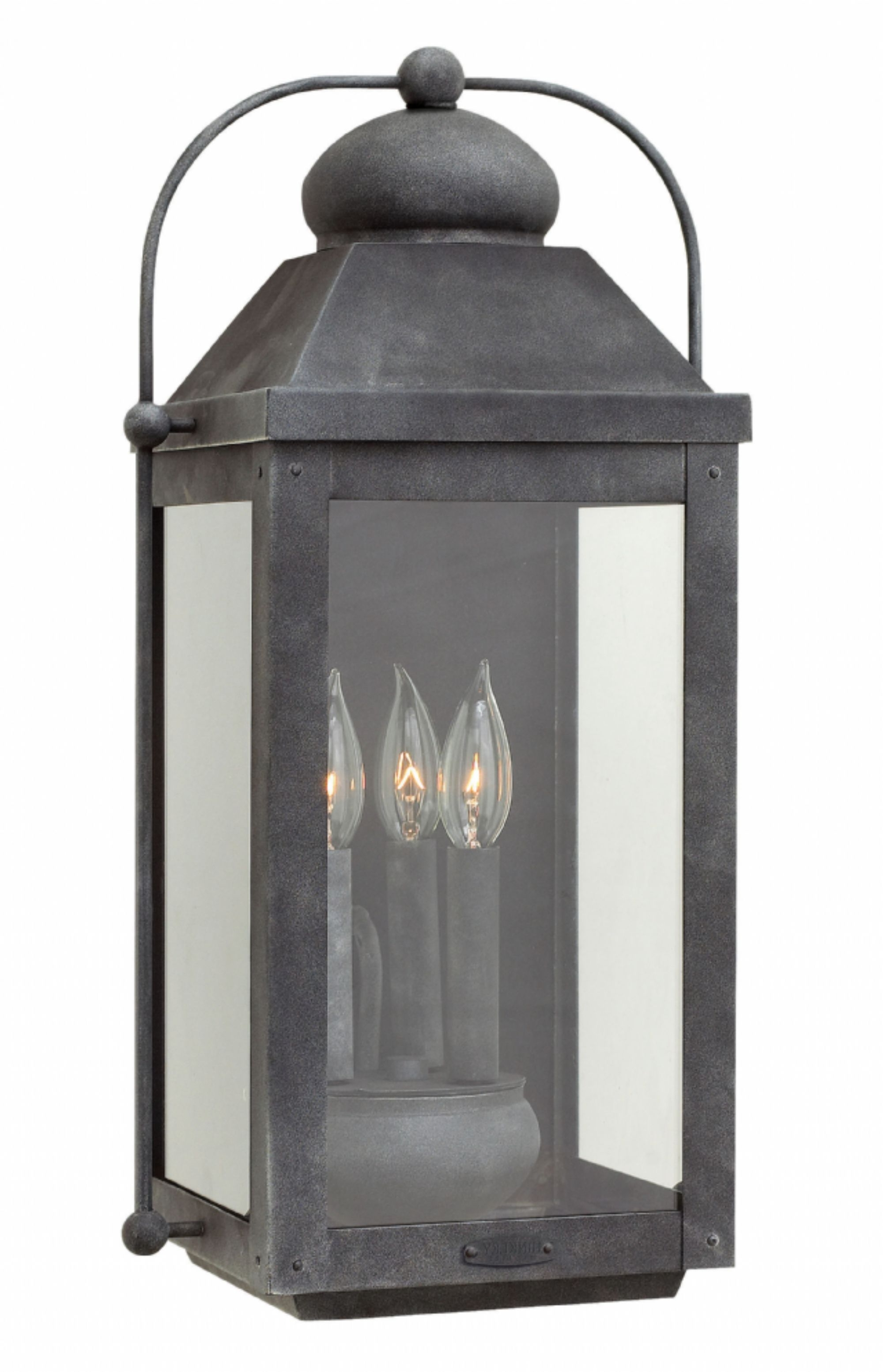 Most Current Aged Zinc Anchorage > Exterior Wall Mount Regarding Hinkley Outdoor Hanging Lights (View 12 of 20)