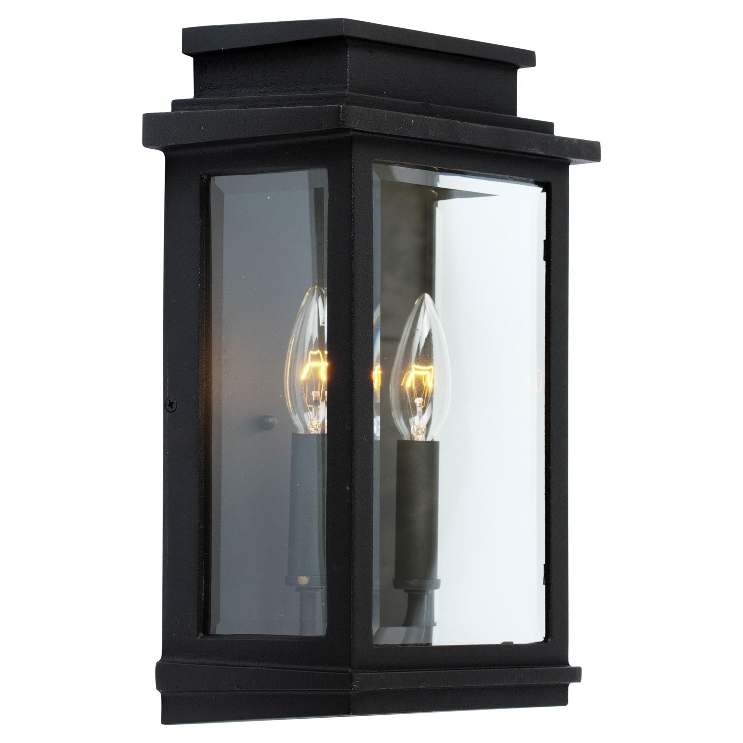 Most Current Contemporary Outdoor Wall Lighting Fixtures Within Artcraft Ac8391 Fremont 13 1 2 2 Light Outdoor Wall Sconce (View 11 of 20)