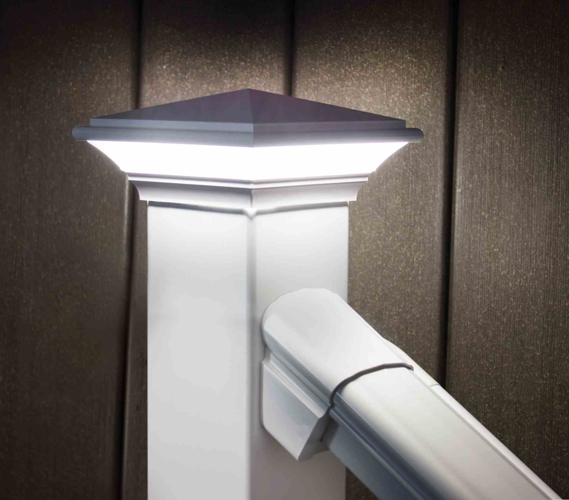 Most Current Fence Post Lights Low Voltage Depot Path Lights Low Voltage Inside Low Voltage Led Post Lights (View 20 of 20)