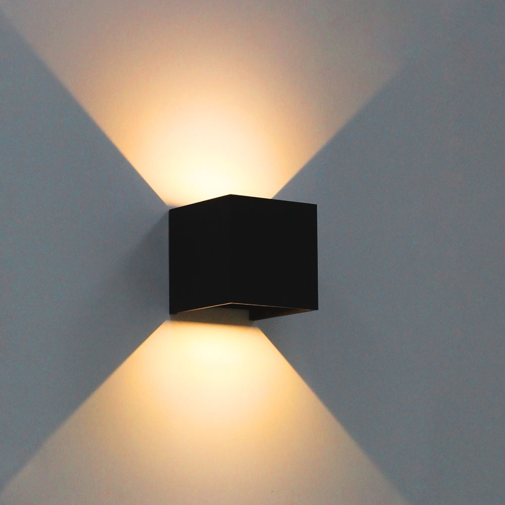 Most Current Furniture : Modern Brief Cube Adjustable Led Wall Lamps Outdoor Intended For China Outdoor Wall Lighting (View 16 of 20)