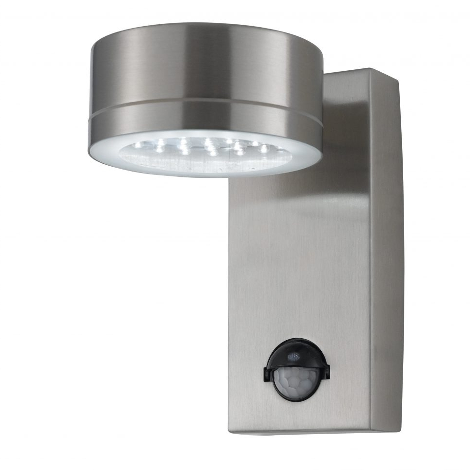 Most Current Furniture : Motion Activated Outdoor Wall Light Sensor Bulb Dusk Regarding Eglo Lighting Sidney Outdoor Wall Lights With Motion Sensor (View 14 of 20)