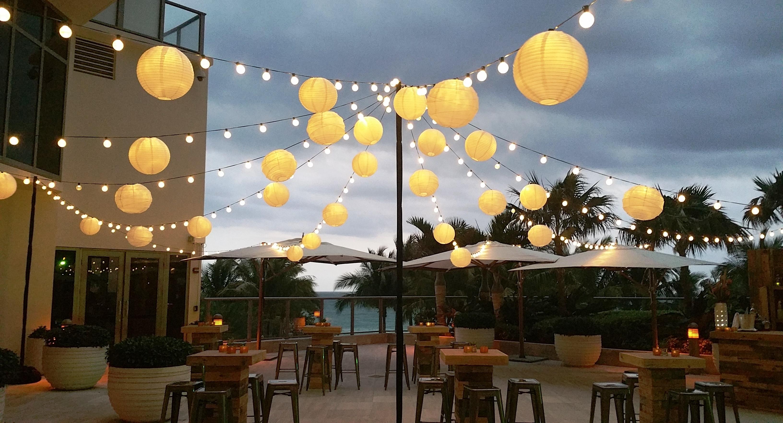 Most Current Furniture : Paper Lantern Lights Outdoor Matt And Jentry Home Design Regarding Outdoor Hanging Paper Lantern Lights (View 10 of 20)