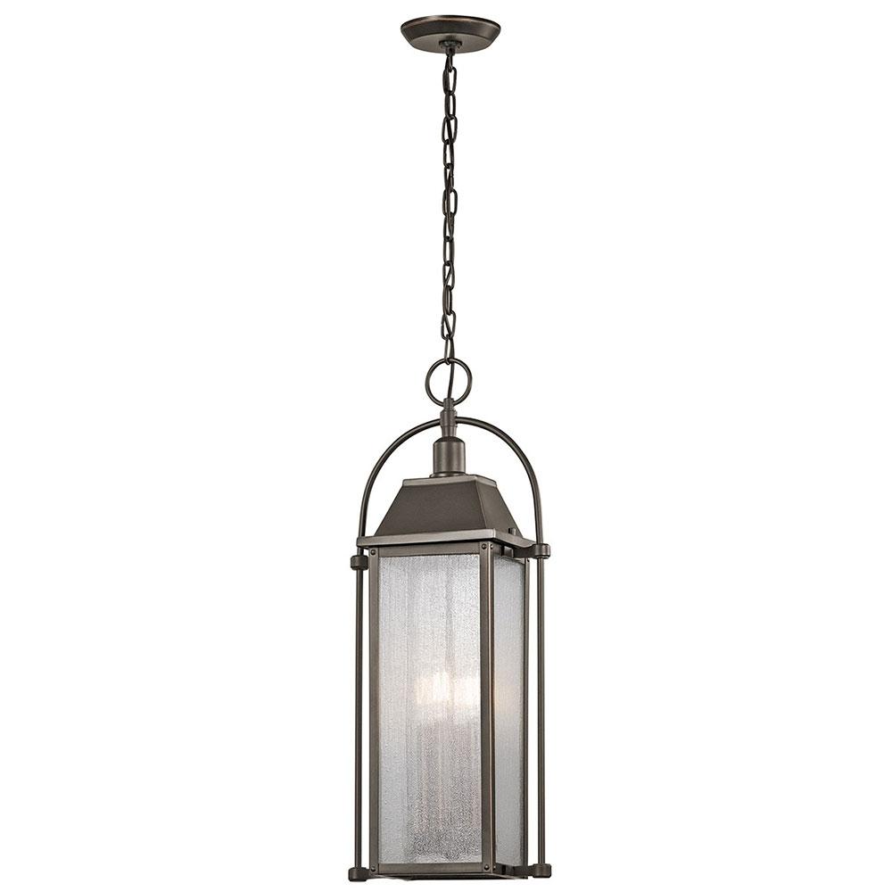 Most Current Kichler 49718oz Harbor Row Olde Bronze Outdoor Hanging Light Fixture For Kichler Outdoor Hanging Lights (View 7 of 20)