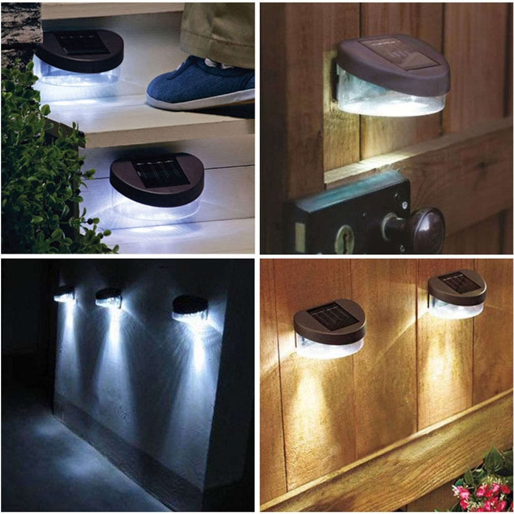 Most Current Light : Solar Outdoor Wall Mounted Lighting The Exterior Light Throughout Garden Outdoor Wall Lights (View 8 of 20)