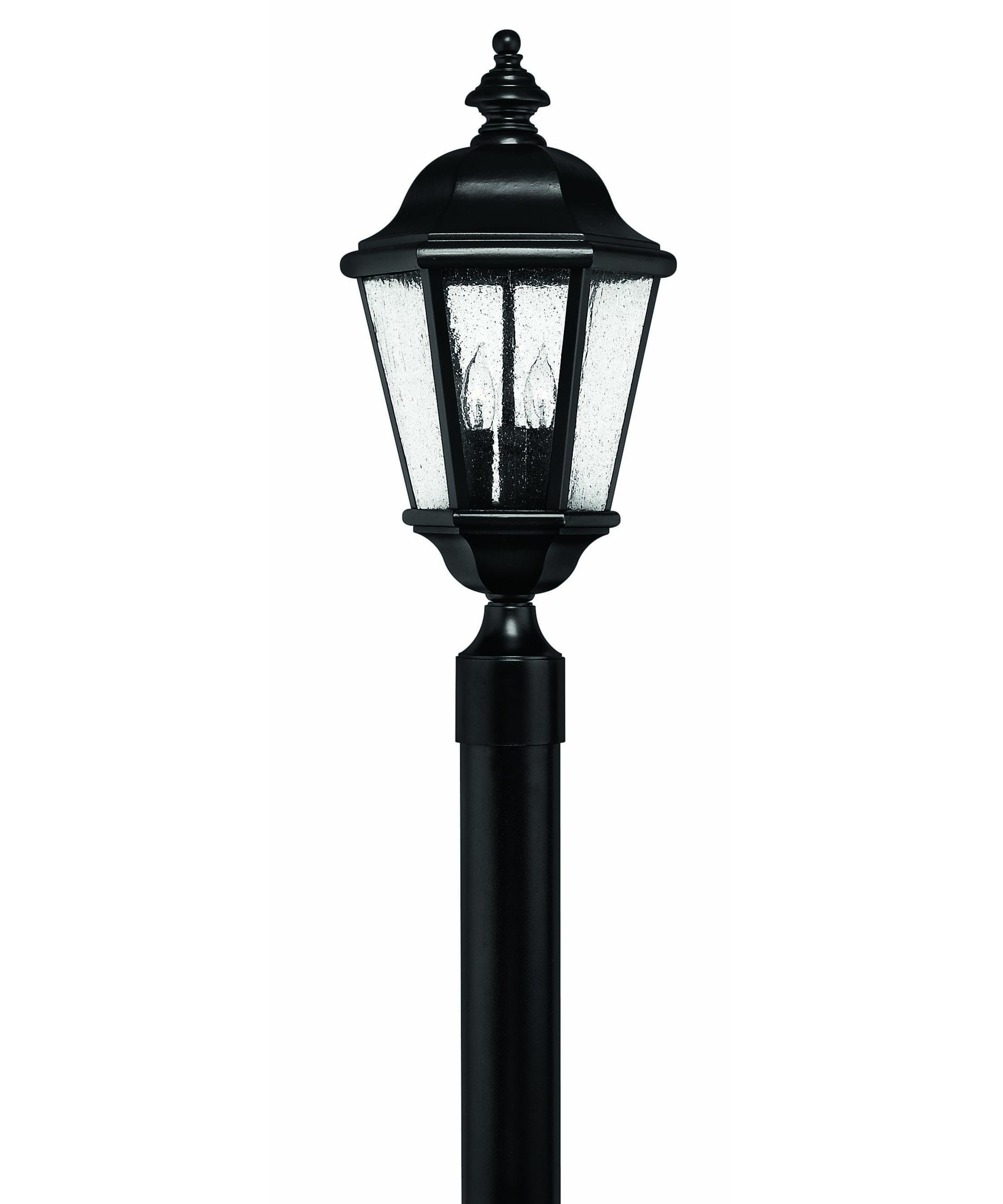 Most Current Outdoor Led Post Lights Fixtures With Regard To Hinkley Lighting 1671 Edgewater 10 Inch Wide 3 Light Outdoor Post (View 9 of 20)
