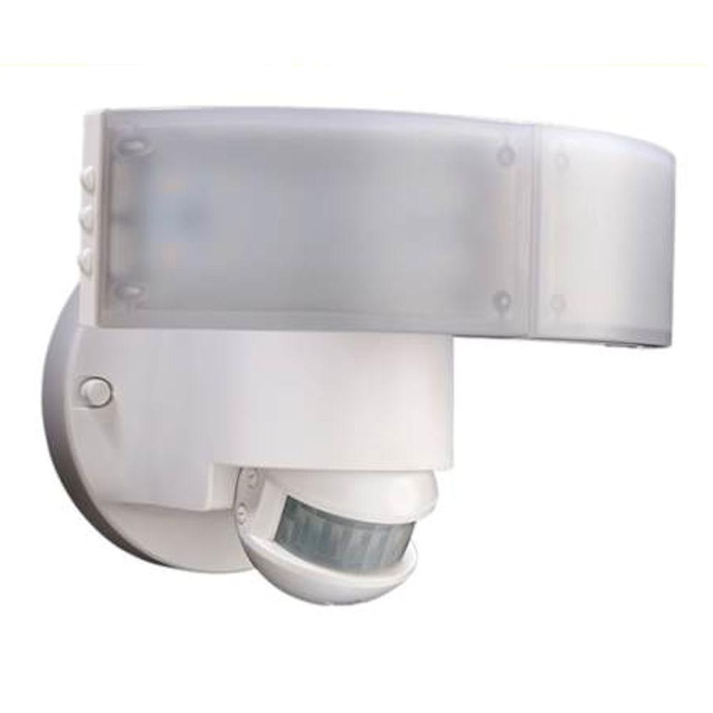 Most Current Outdoor Wall Lights With Security Camera Inside Defiant 180 Degree White Led Motion Outdoor Security Light Dfi (View 16 of 20)