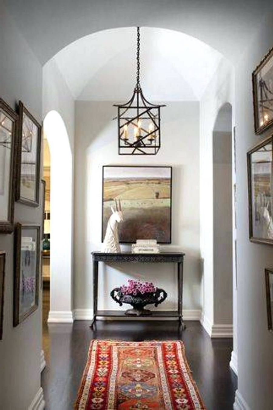 Most Current Pendant Light : Entry Pendant Light Foyer Lighting In Multi With Within Outdoor Entryway Hanging Lights (View 13 of 20)