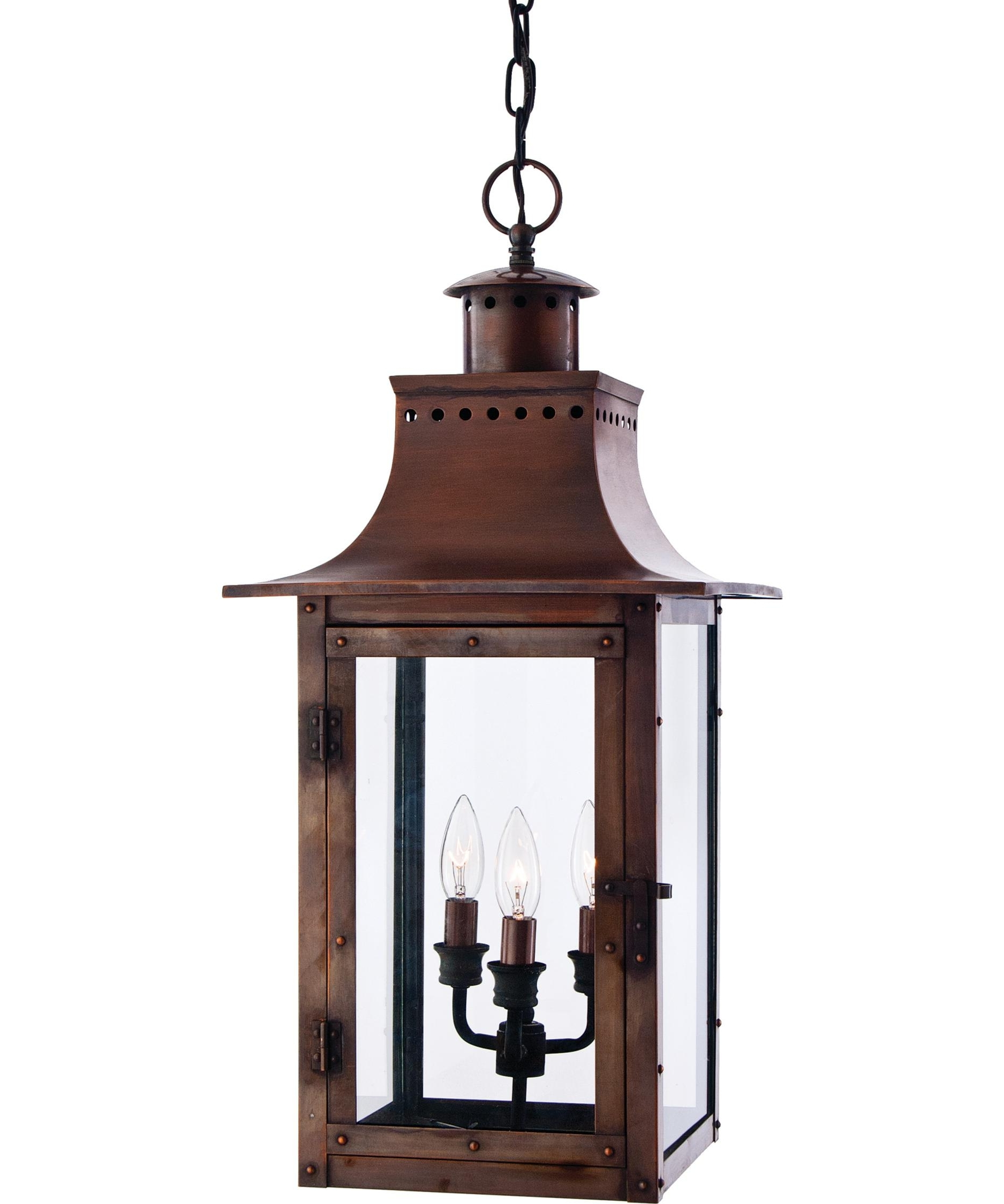 Most Current Quoizel Outdoor Hanging Lights Within Quoizel Cm1912 Chalmers 12 Inch Wide 3 Light Outdoor Hanging Lantern (View 8 of 20)