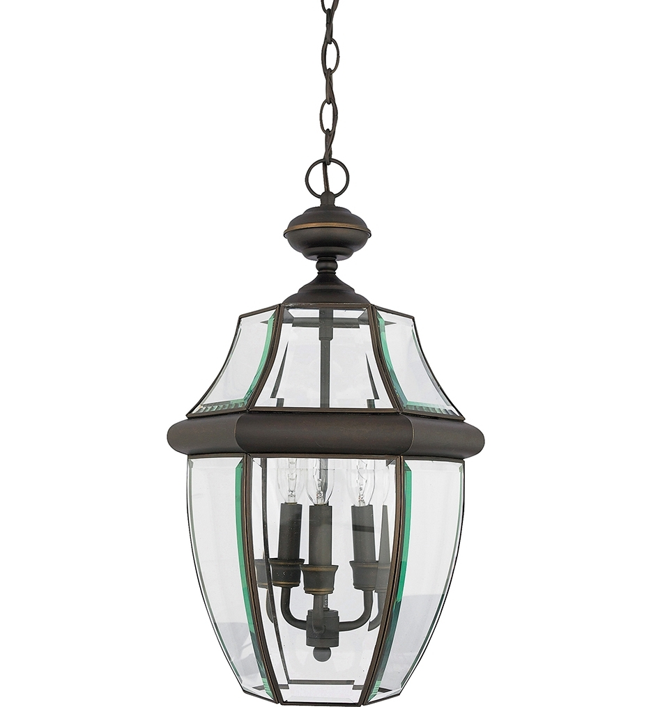 Most Current Quoizel Outdoor Hanging Lights Within Quoizel – Ny1178p – Newbury Pewter 2 Light Outdoor Hanging Lantern (View 3 of 20)