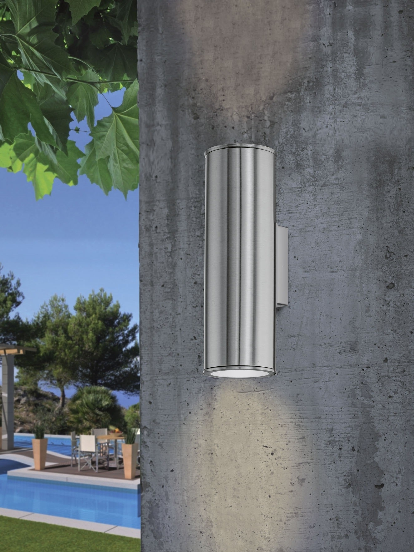 Most Current Riga Led Exterior Wall Light Lge Throughout 200mm Eglo Riga Outdoor Led Wall Lighting (View 10 of 20)