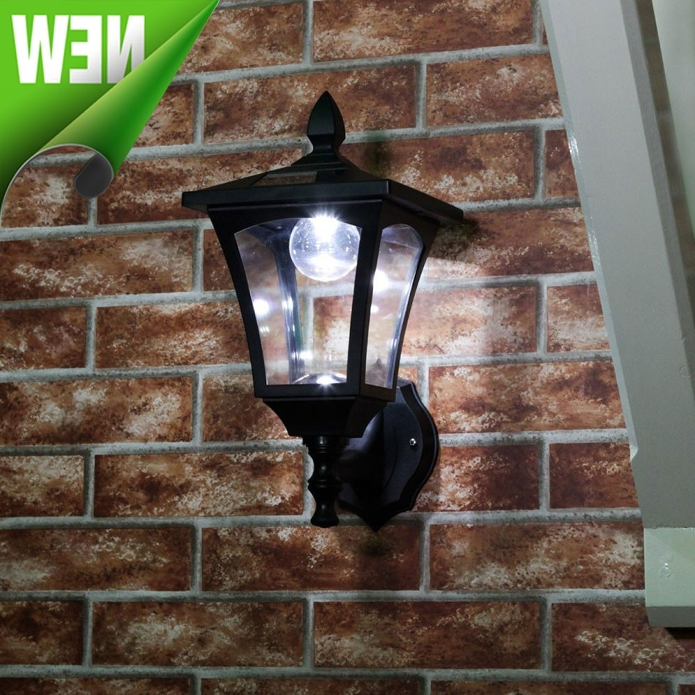 Most Current Solar Wall Lights (View 10 of 20)